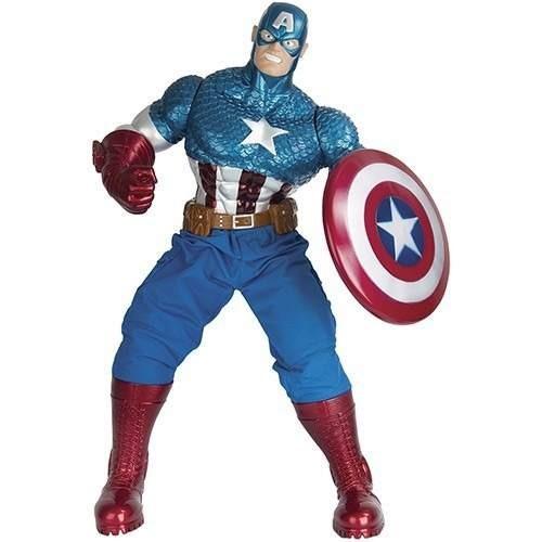 Boneco Avenger Premium Capitão America Marvel 55cm - Mimo